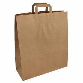 Papírová taška hnědá Topcraft PT05 - 40x16x45 cm