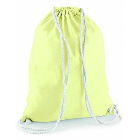 Bavlněný batůžek barevný BS01 - 140g - 37x46 cm