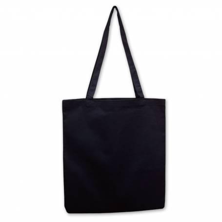 Bavlněná prémiová taška černá BT34 - 210g - 38x42cm