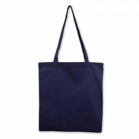 Bavlněná prémiová taška tmavě modrá BT35 - 210g - 38x42cm
