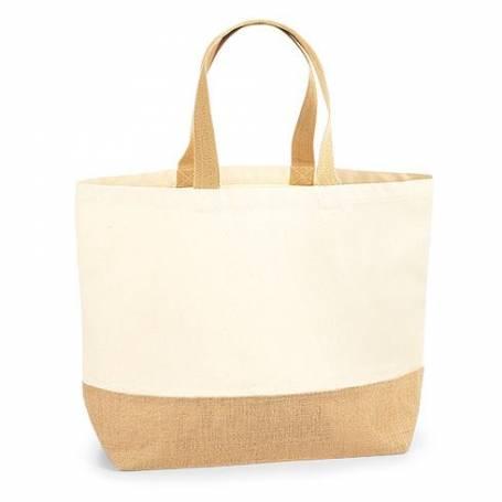 Jutová taška natural XL - JT19 - 38x44x18 cm
