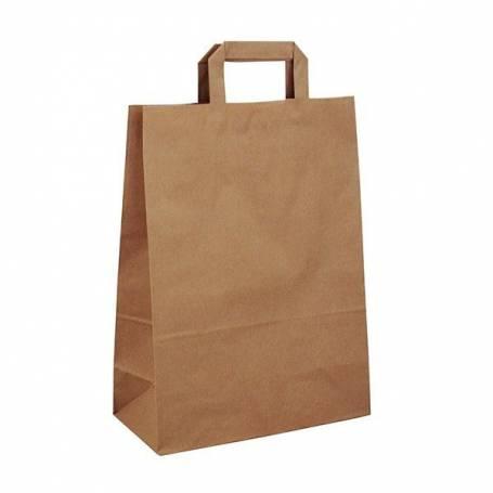 Papírová taška hnědá Takeaway PT22 - 26x14x36 cm
