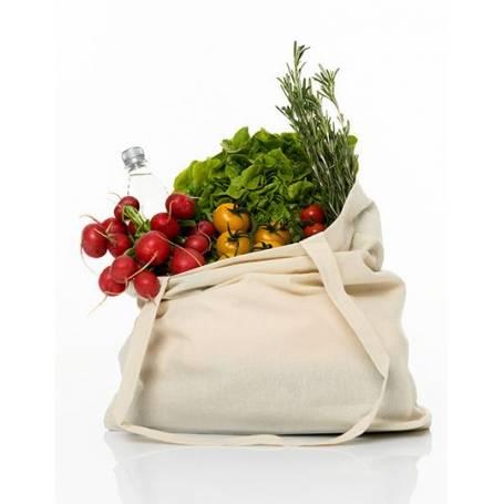 Bavlněná taška barevná BT39 - 140g - 38x42x10cm - dlouhá ucha