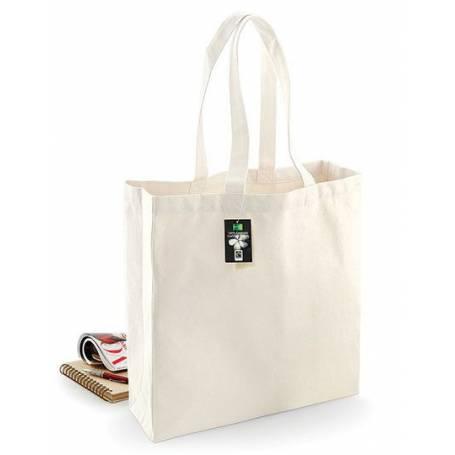 Fairtrade bavlněná taška barevná FBT00 - 407g - 39x41x14 cm