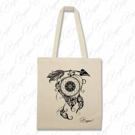 Designová plátěná taška od Bagooo! - Lapač snů