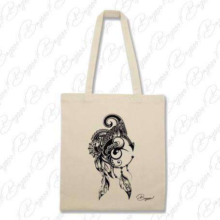 Designová plátěná taška od Bagooo! - Lapač snů 02