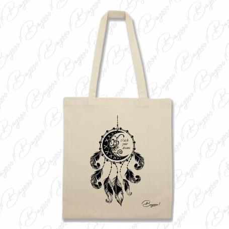 Designová plátěná taška od Bagooo! - Lapač snů 03