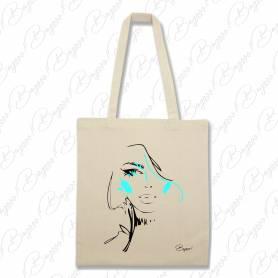 Designová plátěná taška od Bagooo! - Tvář 03