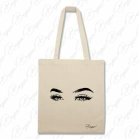 Designová plátěná taška od Bagooo! - Oči