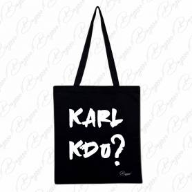 Designová plátěná taška od Bagooo! - Karl Lagernfeld