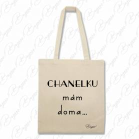 Designová plátěná taška od Bagooo! - Chanel