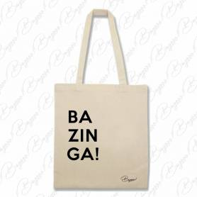 Designová plátěná taška od Bagooo! - BAZINGA!