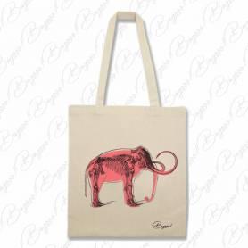 Designová plátěná taška od Bagooo! - Slon