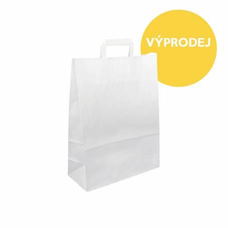 Papírová taška bílá Topcraft PT15 - 40x16x45 cm