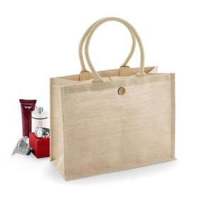 Jutová taška Shopper natural JT10 - 42x33x19 cm