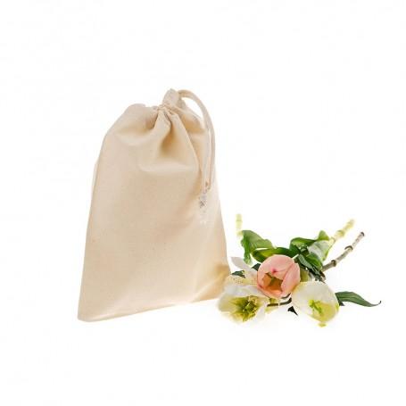 Bavlněný sáček natural BS02 - 140g - 10x14 cm