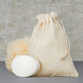 Bavlněný sáček natural BS39 - Medium 15 x 20 cm