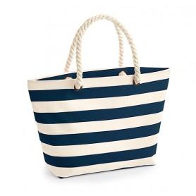 Bavlněná plážová taška Nautical BTP00 - 407g - 36 x 35 x 18 cm