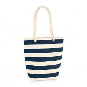 Bavlněná plážová taška Nautical BTP01 - 407g - 24 x 40 x 13 cm