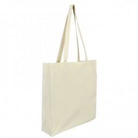 Bavlněná taška natural BT21 - 180g - 38x10x42 cm