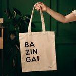 Designovka Bazinga! od BAGOO! pro svoje potěšení nebo jako present👏 . .. . #platenka#plátěnka#design#sitotisk#sítotisk#potiskplzen#screenprint#designovataska#cotton#bavlnenataska#plzen#pilsen#plzeň#czech#czechrepublic#czech_insta#eshop#onlineshoping#nakupy